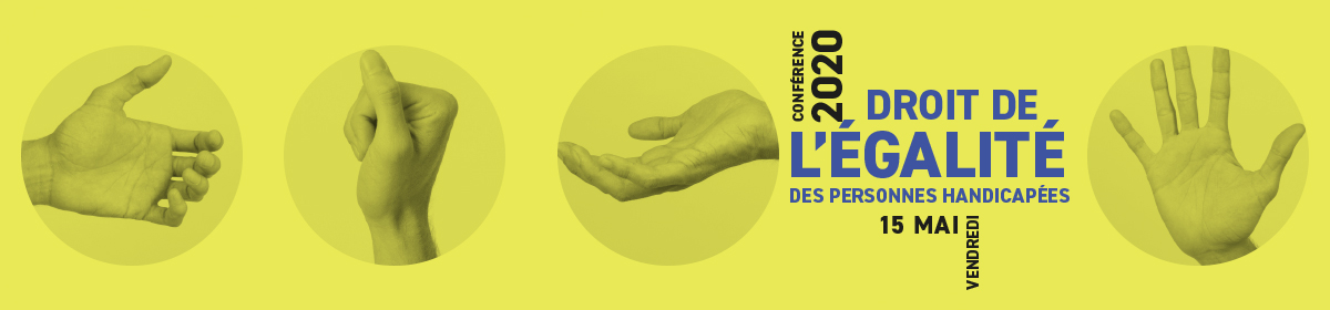 Conférence Droit de l'égalité des personnes handicapées